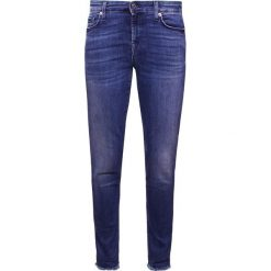 7 for all mankind PYPER  Jeansy Slim Fit illusion blue depth. Niebieskie jeansy damskie 7 for all mankind, z bawełny. Za 929,00 zł.