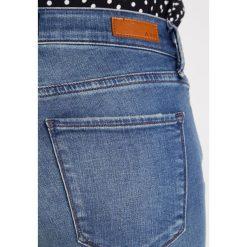 Abercrombie & Fitch Jeans Skinny Fit medium. Niebieskie rurki damskie Abercrombie & Fitch. Za 369,00 zł.