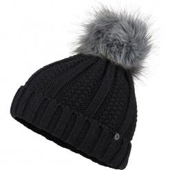 """Czapka """"Bronx"""" w kolorze czarnym. Czarne czapki zimowe damskie Marmot, z polaru. W wyprzedaży za 86,95 zł."""