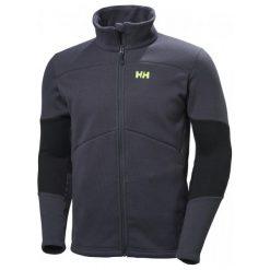 Bejsbolówki męskie: Helly Hansen Bluza Polarowa Eq Black Midlayer Jacket Graphite Blue Xxl