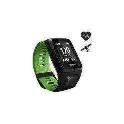 Zegarek GPS Runner3 Cardio (L). Czarne zegarki męskie TomTom. Za 549,99 zł.