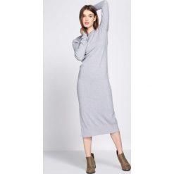 Sukienki: Jasnoszara Sukienka Rationalism