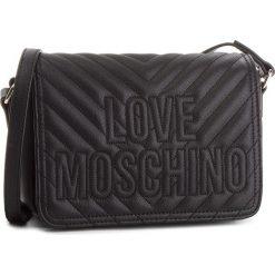Torebka LOVE MOSCHINO - JC4262PP06KI0000 Nero. Czarne listonoszki damskie Love Moschino, ze skóry ekologicznej. Za 679,00 zł.