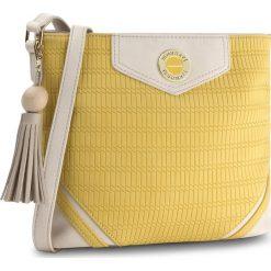 Torebka MONNARI - BAG1880-002 Yellow. Żółte listonoszki damskie Monnari, ze skóry ekologicznej, na ramię. W wyprzedaży za 129,00 zł.