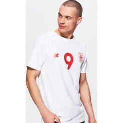 Koszulki do piłki nożnej męskie: Piłkarska koszulka polska – Biały