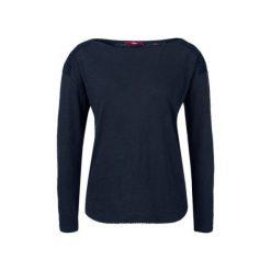 S.Oliver T-Shirt Damski 34 Ciemnoniebieski. Czarne t-shirty damskie S.Oliver, s. W wyprzedaży za 59,00 zł.