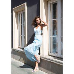 Sukienki: Jasnoniebieska Sukienka Give a Little More