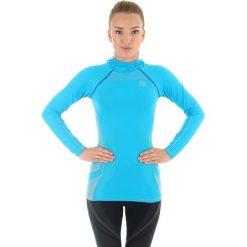 Brubeck Bluza damska z kapturem Fitness turkusowa r. L (LS11360). Bluzy sportowe damskie Brubeck, l, z kapturem. Za 129,19 zł.