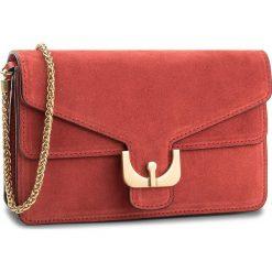 Torebka COCCINELLE - BM1 Ambrine Suede E1 BM1 19 01 01 Coquelicot 209. Czerwone torebki klasyczne damskie Coccinelle, ze skóry. W wyprzedaży za 769,00 zł.