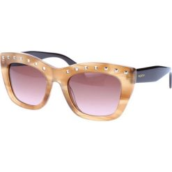 """Okulary przeciwsłoneczne damskie: Okulary przeciwsłoneczne """"V716S"""" w kolorze beżowo-czarnym"""