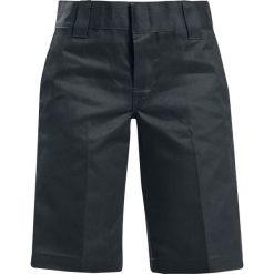 Dickies 11'' Slim Straight Work Short Krótkie spodenki damskie czarny. Szare szorty damskie z printem marki Dickies, na zimę, z dzianiny. Za 79,90 zł.