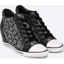 Calvin Klein Jeans - Buty Vero Jacquard. Szare buty sportowe damskie marki Calvin Klein Jeans, z jeansu. W wyprzedaży za 299,90 zł.