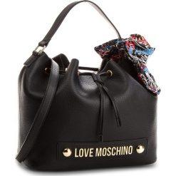 Torebka LOVE MOSCHINO - JC4122PP16LV0000 Nero. Czarne torebki klasyczne damskie Love Moschino, ze skóry ekologicznej. Za 839,00 zł.
