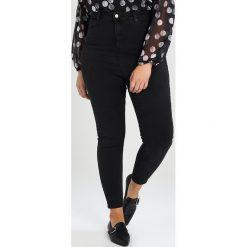 New Look Curves WASHED JET Jeans Skinny Fit black. Czarne rurki damskie New Look Curves. W wyprzedaży za 170,10 zł.