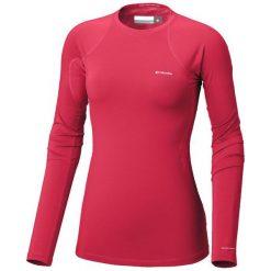 Columbia Bluza Termoaktywna Midweight Stretch Long Sleeve Top Red Camellia M. Czerwone bluzy sportowe damskie Columbia, m, z długim rękawem, długie. Za 195,00 zł.