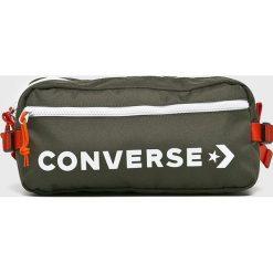 Converse - Nerka. Szare walizki Converse, w paski, z materiału, małe. W wyprzedaży za 99,90 zł.