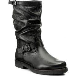 Kozaki LASOCKI - RIKA-01 Czarny. Czarne buty zimowe damskie Lasocki, ze skóry, na obcasie. Za 329,99 zł.