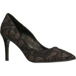 Czółenka SAVONA. Szare buty ślubne damskie marki Gino Rossi, z gumy. Za 99,90 zł.