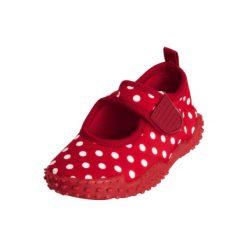 Playshoes Buty do wody Punkty czerwony. Czerwone buciki niemowlęce Playshoes, z materiału. Za 59,00 zł.