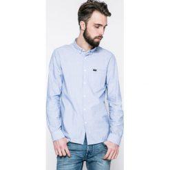 Lee - Koszula. Szare koszule męskie na spinki marki Lee, l, z bawełny, button down, z długim rękawem. W wyprzedaży za 139,90 zł.