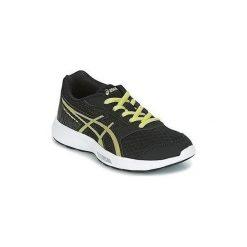 Buty do biegania Dziecko Asics  GEL STORMER 2 GS C811N 9089. Czarne buty sportowe chłopięce Asics. Za 184,68 zł.
