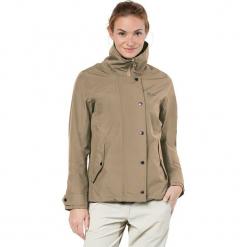 """Kurtka funkcyjna """"Newport"""" beżowym. Brązowe kurtki damskie marki Jack Wolfskin, xs, z materiału. W wyprzedaży za 391,95 zł."""