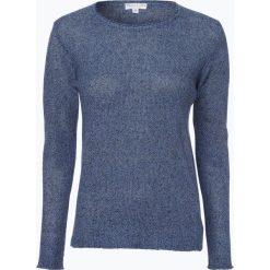 Marie Lund - Sweter damski z lnu, niebieski. Niebieskie swetry klasyczne damskie Marie Lund, l. Za 229,95 zł.