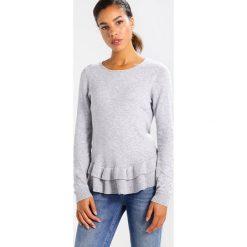 Swetry damskie: Vila VIVICKA Sweter light grey melange