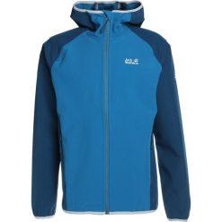 Jack Wolfskin ZENON SOFTSHELL MEN Kurtka Softshell glacier blue. Czarne kurtki sportowe męskie marki Jack Wolfskin, l, z poliesteru, z kapturem. W wyprzedaży za 344,25 zł.
