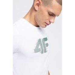 T-shirty męskie: T-shirt męski TSM252 - biały