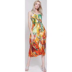 Sukienki: Pomarańczowa Sukienka Magical Objects