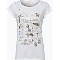 Esprit Casual - T-shirt damski, beżowy. Brązowe t-shirty damskie Esprit Casual, s, z motywem zwierzęcym. Za 69,95 zł.