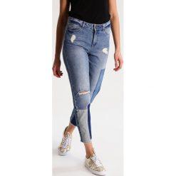 Noisy May NMKIM Jeansy Slim Fit medium blue denim. Niebieskie jeansy damskie relaxed fit marki Noisy May. W wyprzedaży za 148,85 zł.