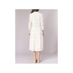 Sukienki długie See U Soon  8123057. Niebieskie sukienki marki See u Soon, s, z krótkim rękawem. Za 272,30 zł.