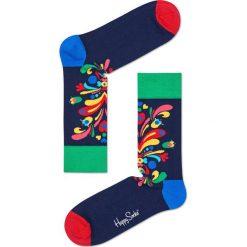 Happy Socks - Skarpety (3-pack). Szare skarpetki męskie Happy Socks, z bawełny. W wyprzedaży za 69,90 zł.