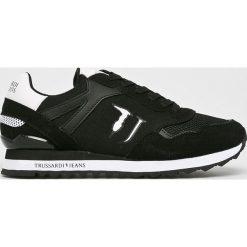 Trussardi Jeans - Buty. Czarne buty sportowe damskie marki Trussardi Jeans, z gumy. Za 479,90 zł.