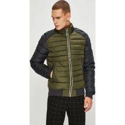 Blend - Kurtka. Brązowe kurtki męskie pikowane marki Blend, l, z bawełny, bez kaptura. W wyprzedaży za 199,90 zł.