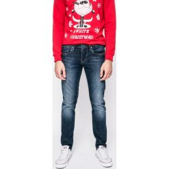 Pepe Jeans - Jeansy Hatch. Niebieskie jeansy męskie slim Pepe Jeans. W wyprzedaży za 199,90 zł.