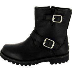 UGG HARWELL Botki black. Czarne buty zimowe damskie Ugg, z materiału. Za 509,00 zł.