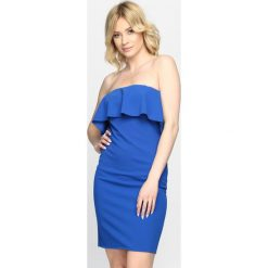 Ciemnoniebieska Sukienka Summer Heat. Niebieskie sukienki hiszpanki Born2be, na lato, s. Za 69,99 zł.