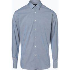 BOSS - Koszula męska łatwa w prasowaniu – Eliott, niebieski. Czarne koszule męskie non-iron marki Boss, m. Za 399,95 zł.