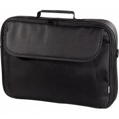 """Hama Montego 17.3"""" czarna. Czarne torby na laptopa HAMA, z materiału. Za 79,90 zł."""