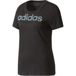 Adidas Koszulka Special Linear Black M. Czarne bluzki sportowe damskie marki Adidas, m, z bawełny. Za 79,00 zł.