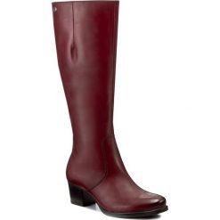Buty zimowe damskie: Kozaki CAPRICE - 9-25519-29 Bordeaux Nappa 540