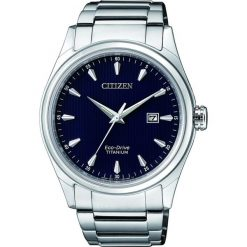 ZEGAREK CITIZEN Titanium BM7360-82L. Niebieskie zegarki męskie CITIZEN, ze stali. Za 980,00 zł.