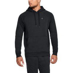 Bejsbolówki męskie: Under Armour Bluza męska Rival Fleece Po Hoodie czarna r. L (1320736-001)
