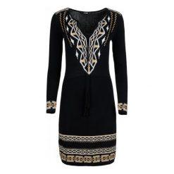 Desigual Sukienka Damska Neltu Xs Czarny. Czarne sukienki marki Desigual, xs. W wyprzedaży za 299,00 zł.