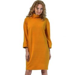 Sukienki hiszpanki: Sukienka w kolorze musztardowym