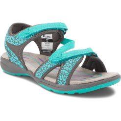 Sandały damskie: Sandały ELBRUS - Madaka Turquoise/Mid Grey/Purple