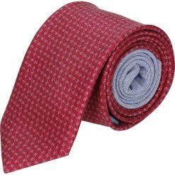 Krawaty męskie: krawat winman czerwony classic 201
